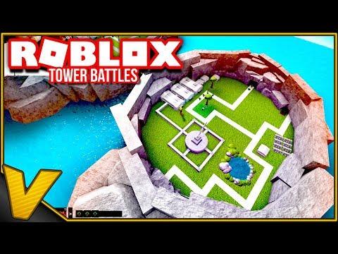 OPSTIL DIN HÆR OG STOP INVASIONEN! :: Tower Battles Roblox Dansk