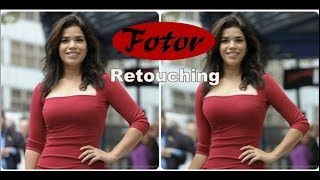 How to retouch yourself in a minute by Fotor