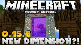 new minecraft pe dimension portal mcpe 0 15 6 dimension map minecraft pe pocket edition