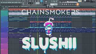 The Chainsmokers - Closer (Slushii Remix) [Remake + Free FLP]