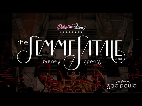 Britney Spears Live From São Paulo (Bootleg) | The Femme Fatale Tour
