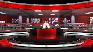 virtual studio screen sets