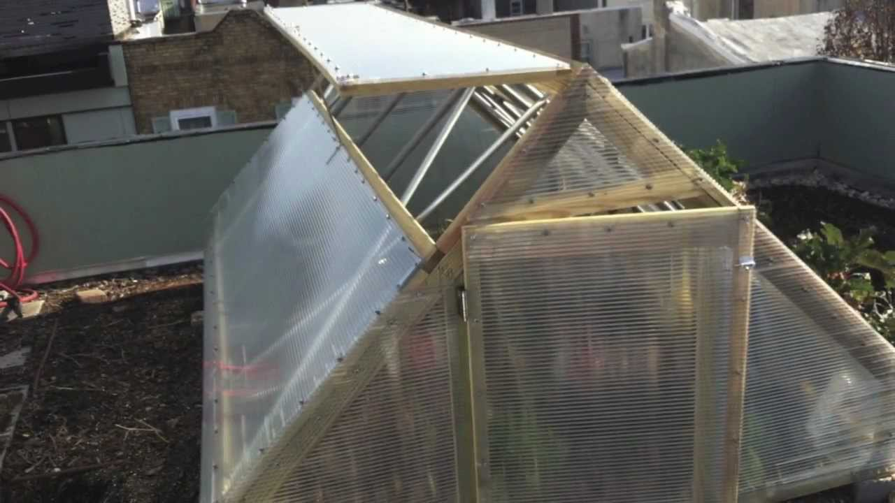 Rooftop Greenhouse Youtube