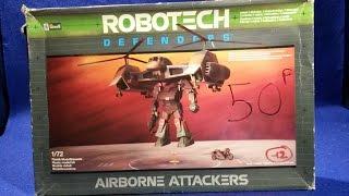 Airborne Attackers de Revell dans la collection Robotech Defenders