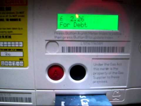 Gas Meter Topup Mov Youtube