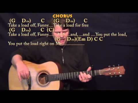 The Weight (The Band) Strum Guitar Cover Lesson with Chords/Lyrics - Capo 2nd