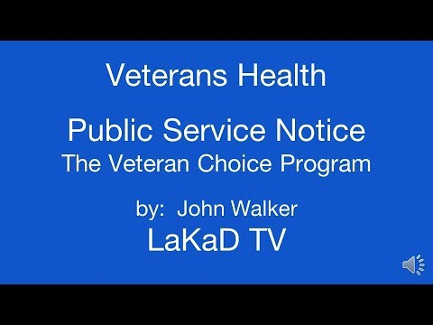 Veterans Health Care How to Avoid Delays By Using The Choice Program