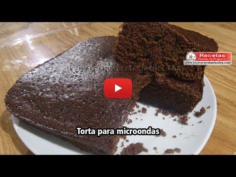 Torta Para Microondas Fácil Recetas Fáciles De Preparar