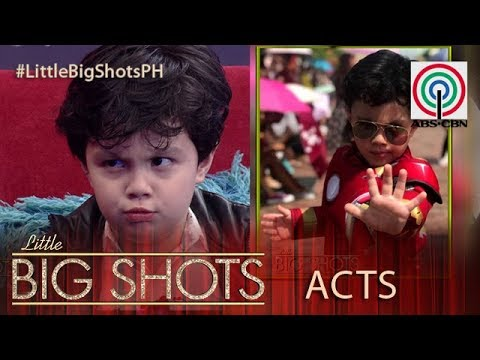 Little Big Shots Philippines: Smash | 3-year-old Hotshot