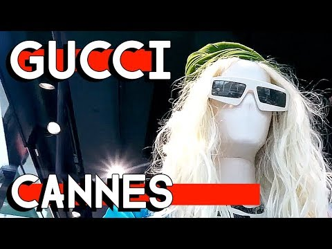 GUCCI in CANNES and FOOD at the FILM MARKET