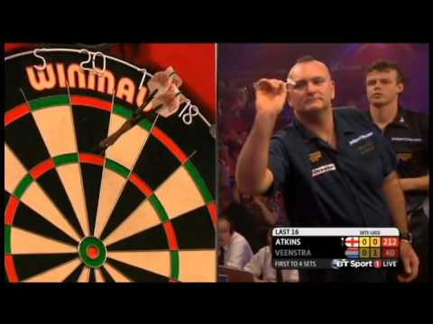 2016 BDO World Darts Championship Round 2 Atkins vs Veenstra