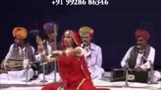 Rajasthani Folk Dance Artsit Performance   Terah Tali Dance