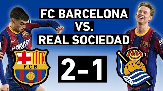Real sociedad came in as league leaders, though they hadn't beaten barcelona at the camp nou almost three decades. played like leaders in...