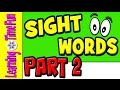 Sight Words for Kids | Learn Sight Words | Children Learning | Sight Words | Dolch Words | Fry Words