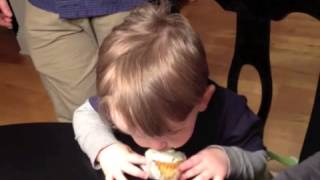 Jack's 2nd Birthday Party: Pistachio Cupcakes