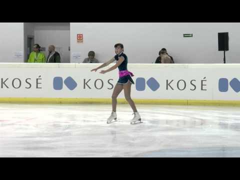 La patineuse Marocaine : Karen GHEBBARI