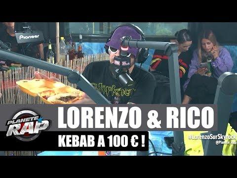 Youtube: Lorenzo et Rico un kebab à 100€ #PlanèteRap