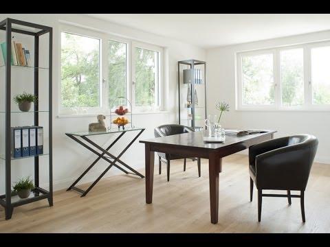 arbeitszimmer wohnzimmer b ro einrichten. Black Bedroom Furniture Sets. Home Design Ideas