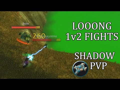 Looong 1v2 Fights In World PvP | Priest Shadow Highlights Classic WoW