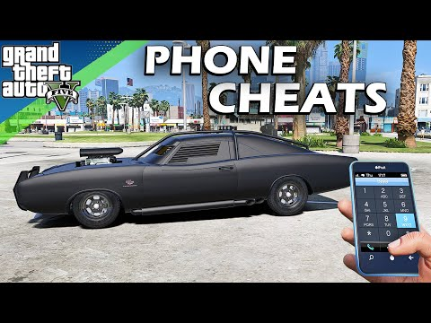 GTA 5 Phone Cheats (PS3, PS4, XboxOne And PC)