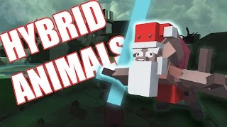 KILL SANTA... PLS.... | Hybrid Animals Gameplay Part 1