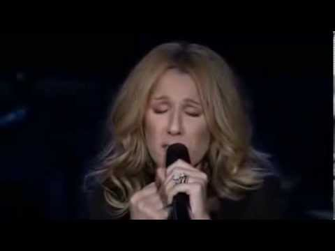 Celine Dion - is crying LIVE!.. (singing My Love.). - www.mousicstar.gr