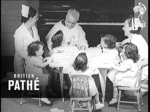 Pathe Gazette Presents Dionne Quintuplets' Birthday Celebrations (1936)