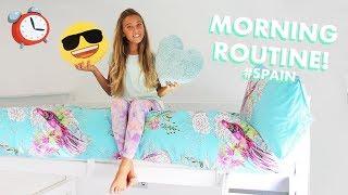 Summer Morning Routine in Spain! (GRWM!)  Rosie McClelland