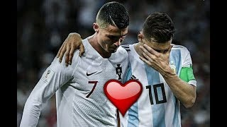 Cristiano Ronaldo and Lionel Messi Emtional/Respect moments ● New