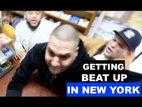 Getting Beat Up In New York City (FULL VIDEO)