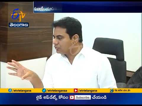 Minister KTR Invited for Indo UAE Partnership Summit at Dubai