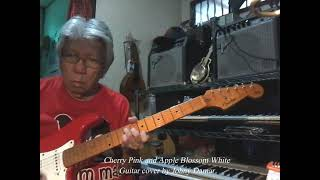 Cherry Pink and Apple Blossom White (Louiguy) - guitar cover by Johny Damar