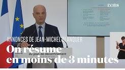 Ecoles, collèges, lycées : les annonces à retenir de Jean-Michel Blanquer