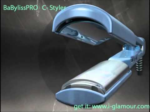 The New BaBylissPRO C Styler Wwwi Glamourcom YouTube
