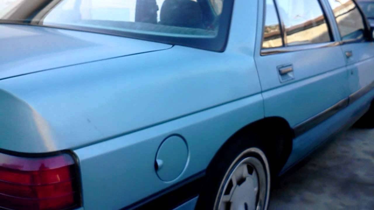 All Chevy 94 chevy corsica : 1991 chevy corsica - YouTube