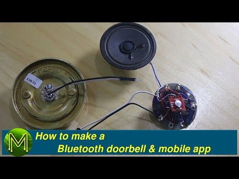 How to make a Bluetooth doorbell & mobile app