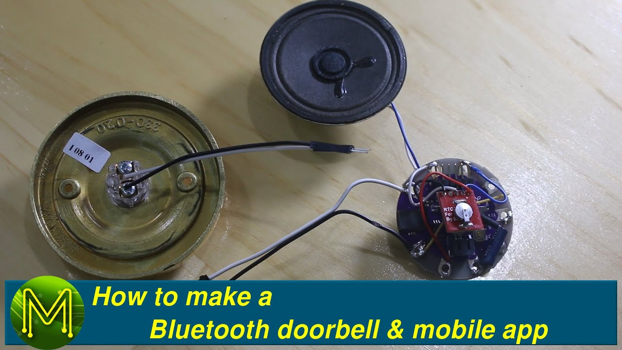 How to make a Bluetooth doorbell and phone app