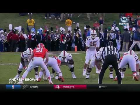 Andrew Brown vs Miami 2016