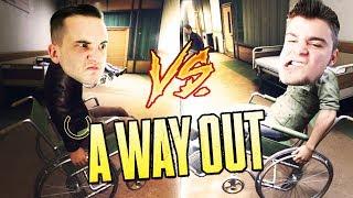 ZAWODY STANIA NA WÓZKACH INWALIDZKICH! | A Way Out [#9] (With: Dobrodziej)