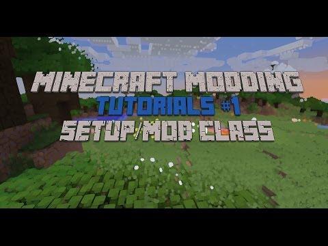 Minecraft Modding Tutorial 1.7.2 #1 - Setup and Main Mod Cl