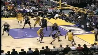 Jason Williams (Kings) Highlights vs.Lakers  2001