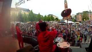 DATAROCK///™ - THE PRETENDER live HD Canal Street Festival 26.7.2013