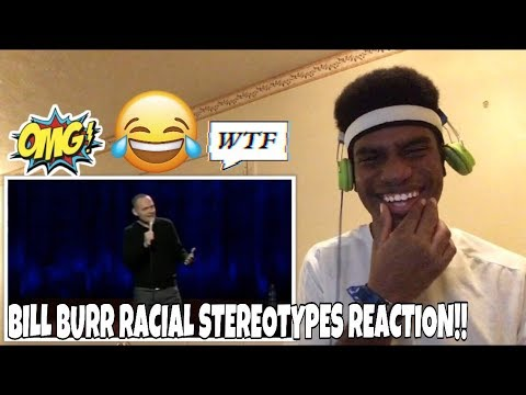 BILL BURR On MOVIE RACIAL STEREOTYPES Reaction