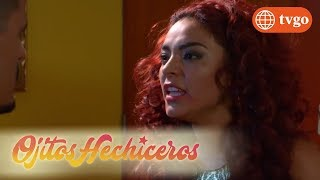 ¡Sabrina provoca a Jair para recibir un golpe! - Ojitos hechiceros 16/03/2018