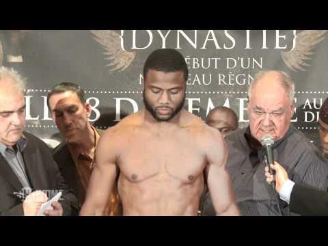 Weigh-In: Jean Pascal vs. Bernard Hopkins – SHOWTIME Boxing SAT DEC 18 @ 10pm