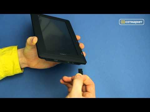 Видео обзор электронной книги TeXet TB-710HD от Сотмаркета