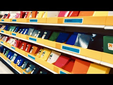 SHOP WITH ME TARGET BACK TO SCHOOL SUPPLIES