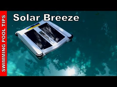 Solar Breeze: The Robotic Solar-Powered Pool Cleaner Review