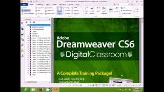 adobe dreamweaver cs6 classroom in a book with lessons files