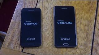 Samsung Galaxy A3 2017 vs A5 2016 - Speed Test!